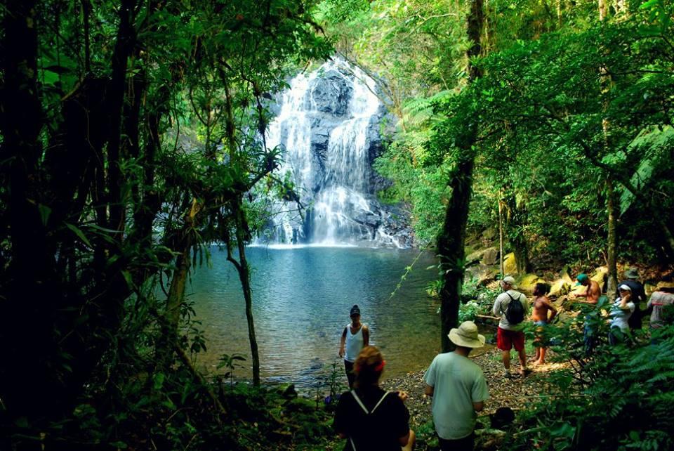 Cachoeira no Sebuí. Imagem: Yasmin Souza.