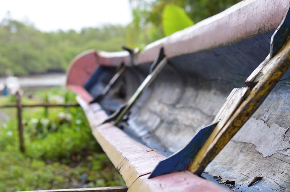 Com quantos paus se faz uma canoa? Um. Imagem: Thaysa Maso.