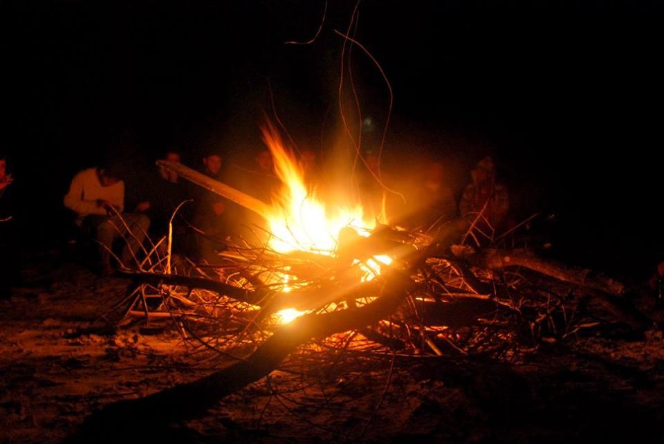 A última fogueira. Imagem: Yasmin Souza.
