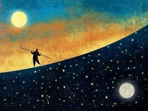equilibrio entre sol e lua