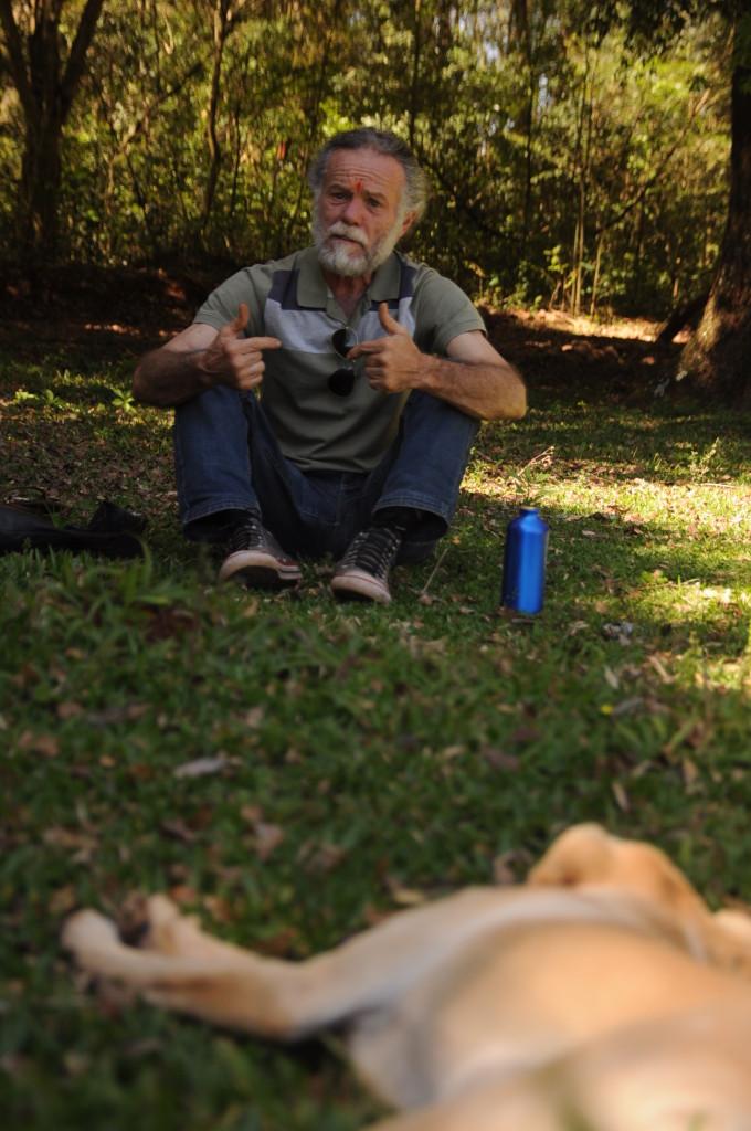 Nelson e toda sua experiência de agricultura ecológica e luta social.