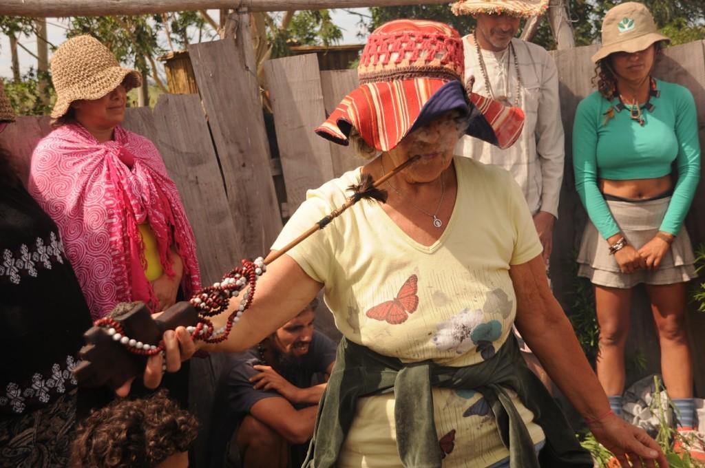 Amambaí, no auge dos seus 68 anos, saindo para o Guata Porã.